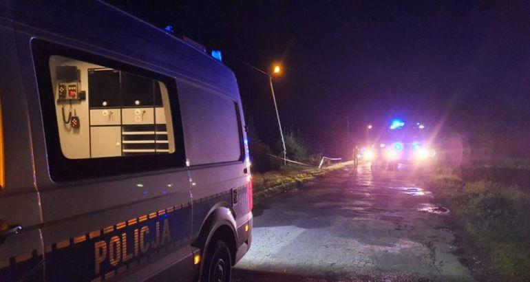 Wypadek w Babczowie / fot.: KPP Radomsko