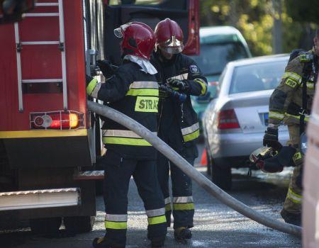 Podpalił samochód za złe parkowanie