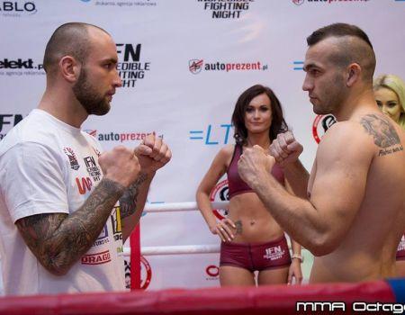 Marcin Krakowiak wygrywa na gali MMA w Częstochowie