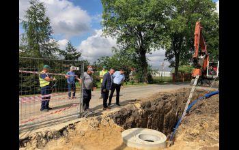 W gminie Wolbórz budują kanalizację
