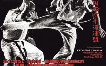 Przyjdź i dopinguj karateków