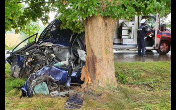 Śmierć na drodze. Nie żyje 53-letni kierowca