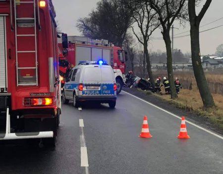Dwa samochody zderzyły się w Niechcicach