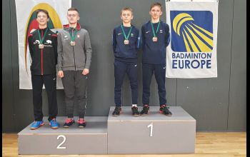 Srebrny medal Maksymiliana Danielaka na Litwie