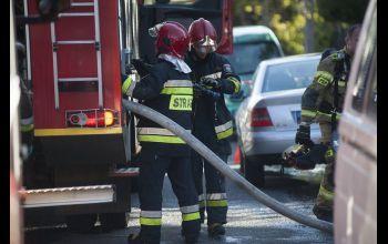 Mężczyzna zginął w pożarze