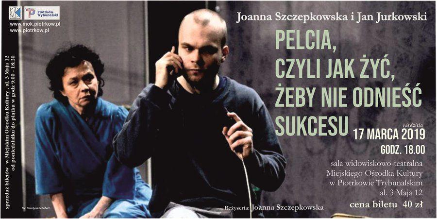 Joanna Szczepkowska na scenie MOK