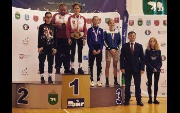 Wiktoria Jaroniek srebrną medalistką Olimpiady Młodzieży