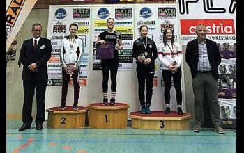 Nasze kadetki na podium w Austrii