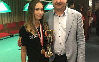 Kolejne sukcesy bilardzistów z gminy Moszczenica