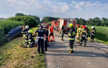10 osób rannych w wypadku pod Radomskiem. Jedna zmarła