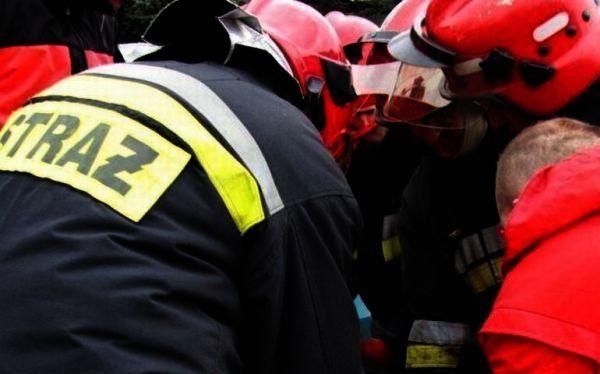 Pożar przy Przemysłowej, czad w mieszkaniu przy Wojska Polskiego, wyciek gazu przy Okrzei