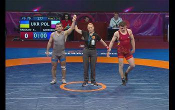 Murad brązowym medalistą mistrzostw Europy