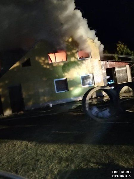 Seria pożarów w powiecie piotrkowskim