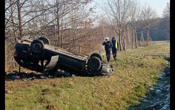 22-latek zginął w wypadku na krajowej