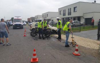 Śmierć młodego motocyklisty
