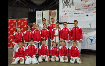 Piotrkowscy karatecy walczyli w Atlas Arenie