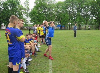 Młodzi piłkarze rywalizowali w Piotrkowie