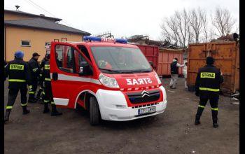 Strażacy razem dla Krystianka! Zbiórka złomu w powiecie