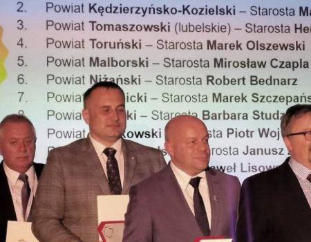 Powiat piotrkowski na 9. miejscu w ogólnopolskim rankingu