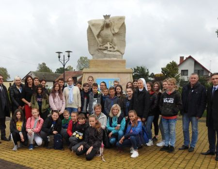 Dzieci z Czech, Słowacji i Węgier odwiedziły Aleksandrów