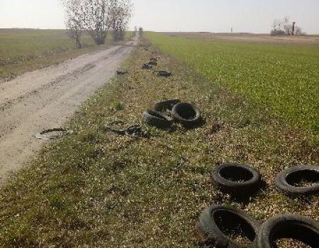 Gmina Wolbórz szuka właściciela opon