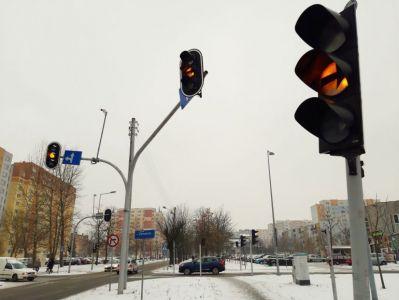 Co ze światłami na skrzyżowaniu Słowackiego i Zamenhofa?