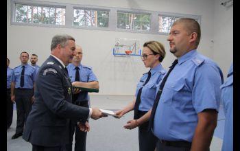 Narada Służby Więziennej w Sulejowie. Rozmawiali o Systemie Dozoru Elektronicznego
