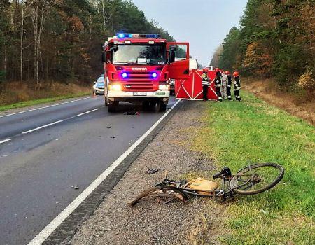 Śmiertelny wypadek na DK nr 91