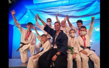 Karatecy z Piotrkowa spisali się na piątkę