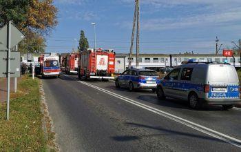Pociąg potrącił młodego mężczyznę