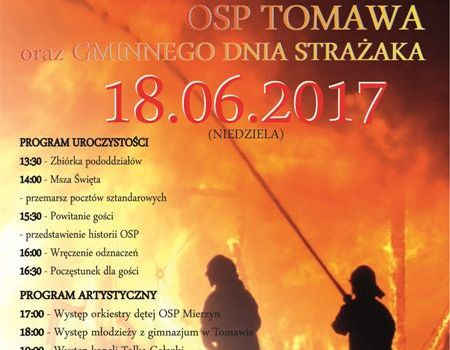100-lecie OSP Tomawa oraz Gminny Dzień Strażaka
