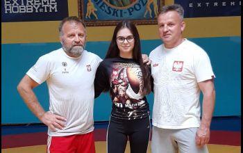 Wiktoria Jaroniek trenowała z reprezentacją kadetek