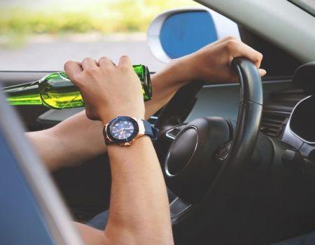 Pijany pojechał autem po alkohol