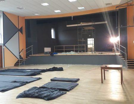 Prace remontowe w moszczenickim GOKiS na ukończeniu