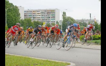 Prestiżowy wyścig kolarski w Piotrkowie