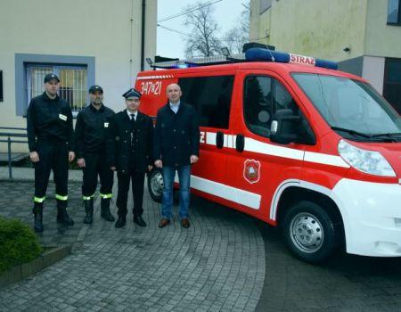 W Bieżywodach mają nowy wóz strażacki