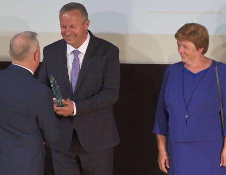 Burmistrz Wolborza otrzymał nagrodę