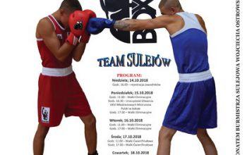 Mistrzostwa Polski w boksie w gminie Sulejów
