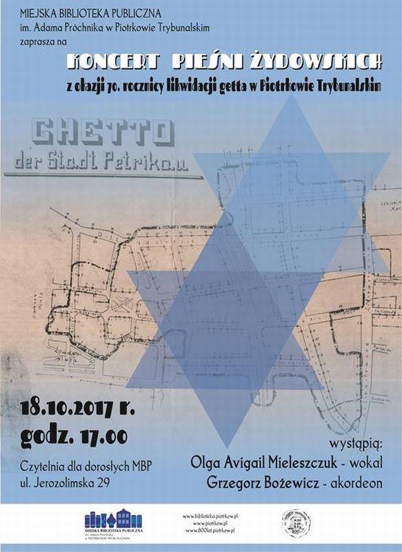 Żydowskie pieśni w Miejskiej Bibliotece Publicznej