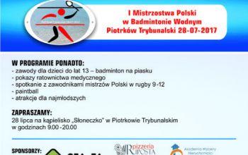 W piątek 28 lipca pierwsze mistrzostwa w nowej dyscyplinie