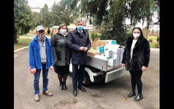 DPS w Łochyńsku otrzymał kolejną partię środków ochronnych