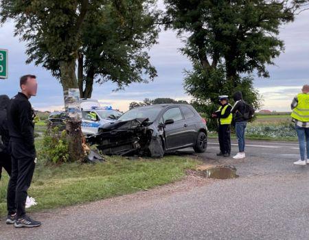 Groźny wypadek w gminie Grabica