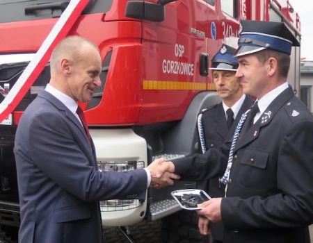 Strażacy z Gorzkowic mają nowy wóz