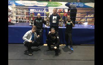 Piotrkowscy fighterzy najlepsi w Szczecinie