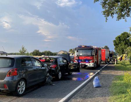 Groźny wypadek na DK91