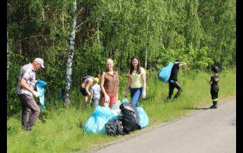 Posprzątali las w Sepnej i Kamiennej