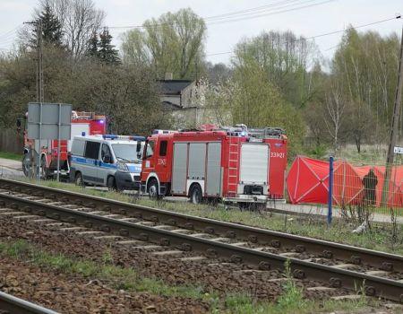 Topielec odnaleziony nieopodal rynku w Gorzkowicach