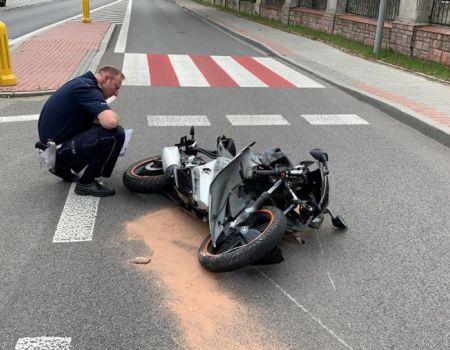 22-letni motocyklista zginął na drodze