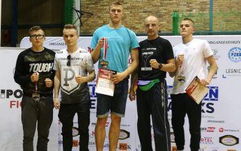Kickbokserzy trzykrotnie na podium mistrzostw kraju