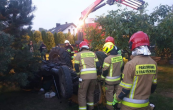Śmiertelny wypadek z udziałem ciągnika